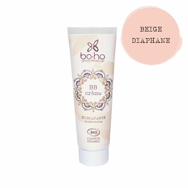 BOHO COSMETICS BB cream 01 Beige Diaphane